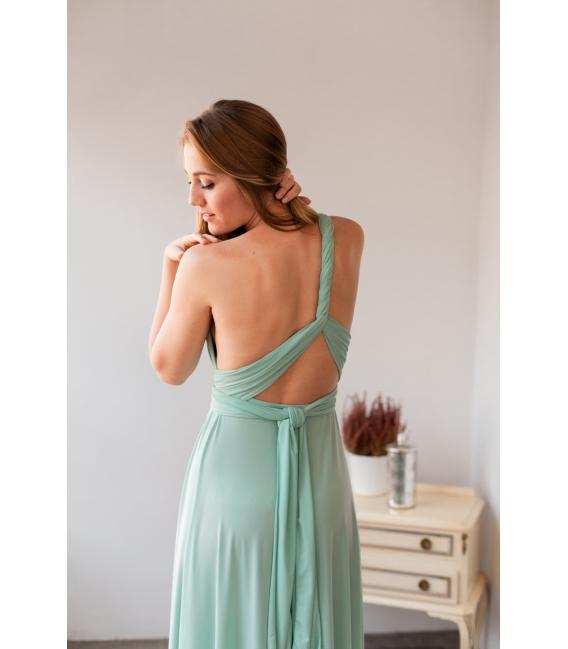 abc760f31 Vestido Gala Multiposición